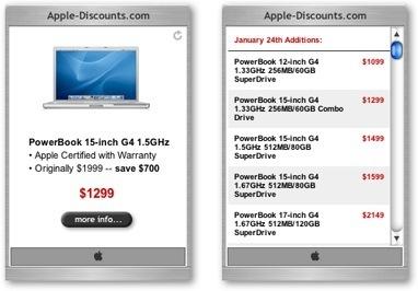 Apple.com Daily Special