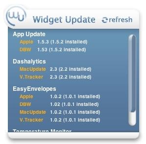 Widget Update