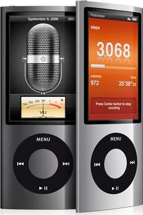 Обновленный iPod nano