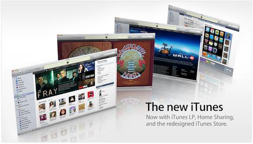 Обзор нового iTunes 9