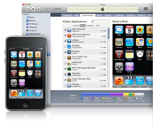 iTunes 9 и iPhone/iPod
