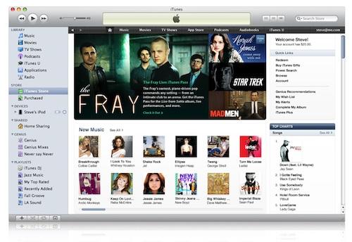 Новый iTunes Store