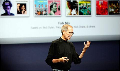 Глава Apple - Стив Джобс