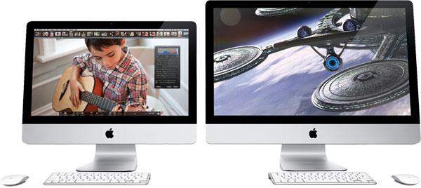 Два новых iMac