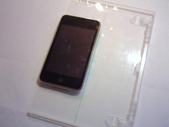 Отмеряем по ширине iPhone