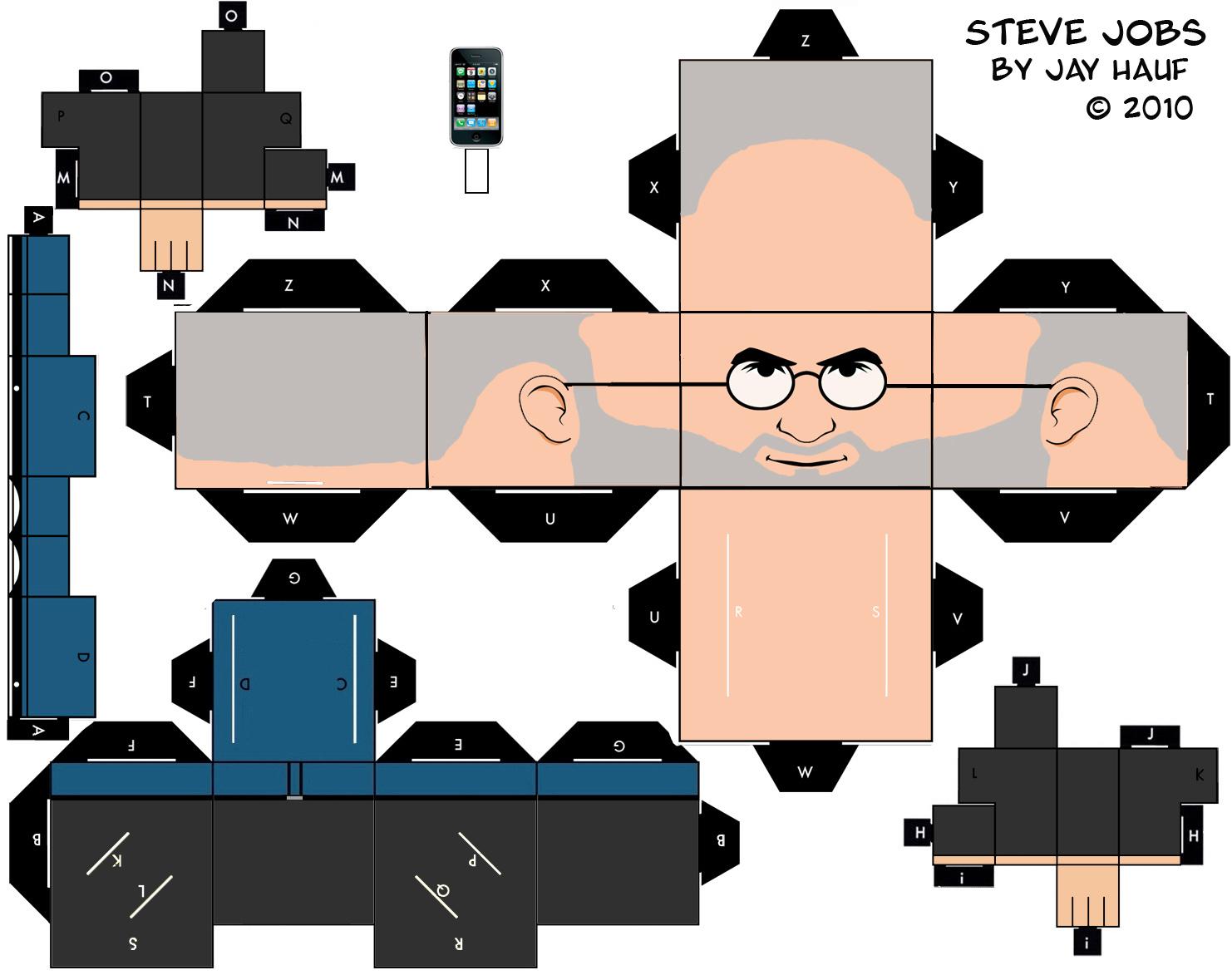 Бумажный Стив Джобс