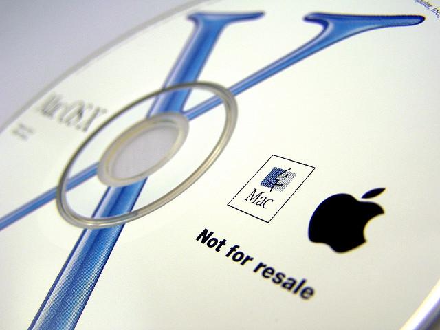 Установочный диск Mac OS X