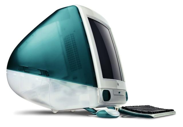 Изогнутые линии и каплевидная форма iMac были большим вдохновением для интерфейса Mac OS X