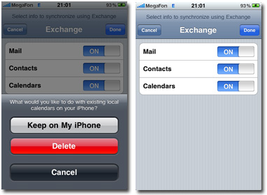 Delete Existing Contacts