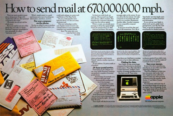 1983 apple 3 mail