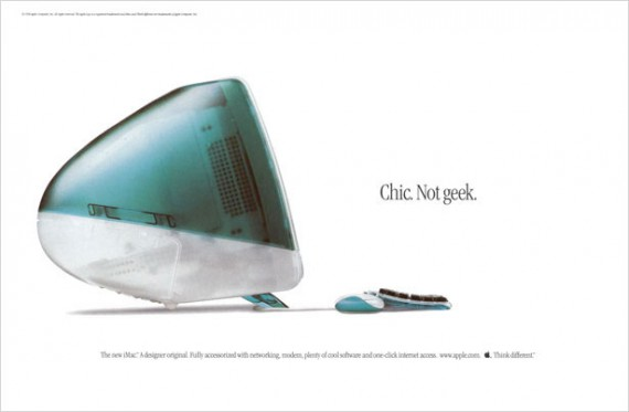 1998 imac chic not geek
