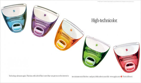 1999 imac high technicolor