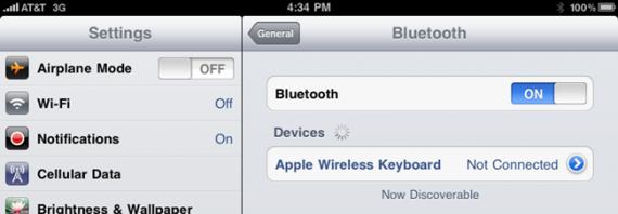 iPad: Советы