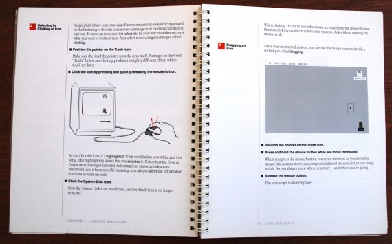 Macintosh User Manual - Clicking