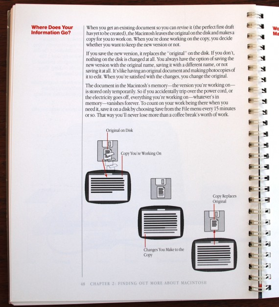 Macintosh User Manual - Saving