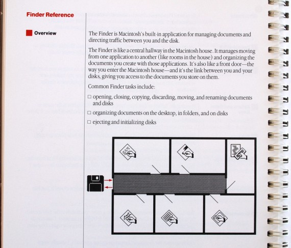 Macintosh User Manual - Finder Rooms
