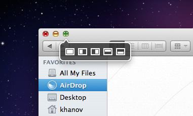 Moom — всплывающее окно пиктограмм