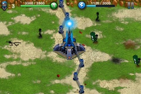 Игры Tesla Wars для iPhone