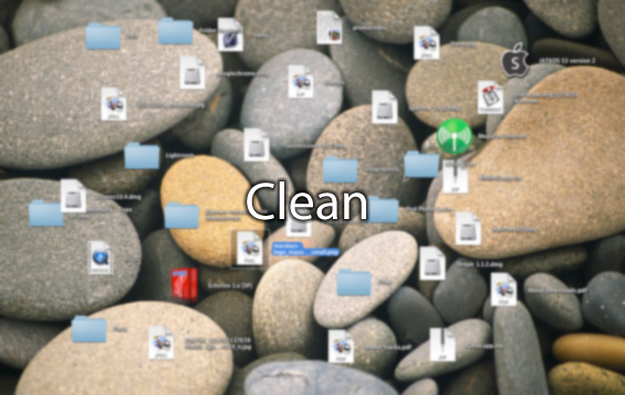 Рабочий стол Clean