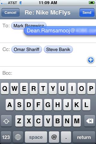 Легкое перемещение адреса электронной почты