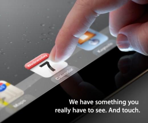 Официально: презентация iPad 3 седьмого марта
