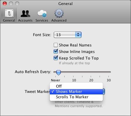 Обзор Osfoora for Mac