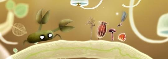 Главные герои игры Botanicula