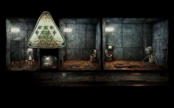 Встроенная в Machinarium головоломка