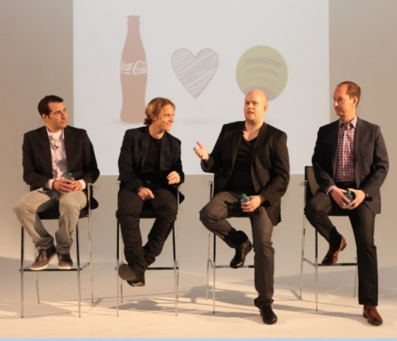 Spotify объявил о сотрудничестве с Coca-Cola