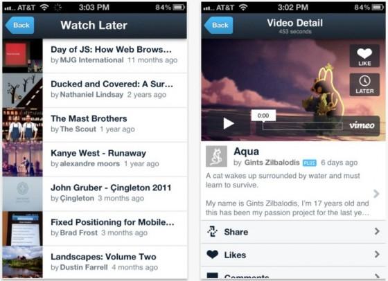 Vimeo для iOS теперь поддерживает видео в 1080р