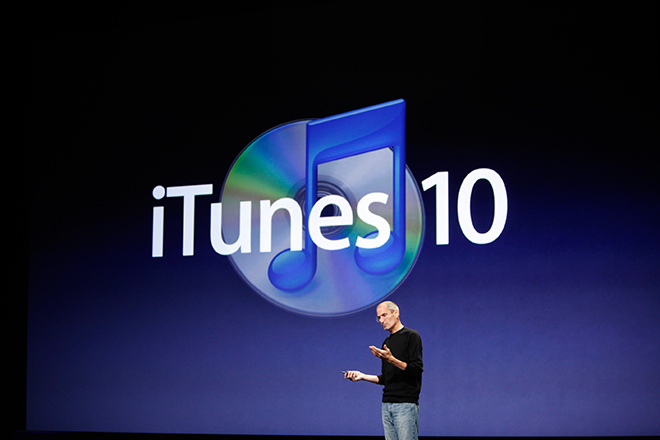 Облачный iTunes