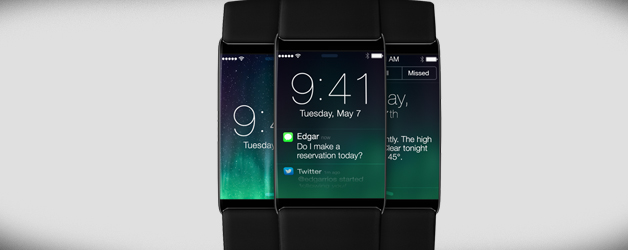 Концепт часов iwatch