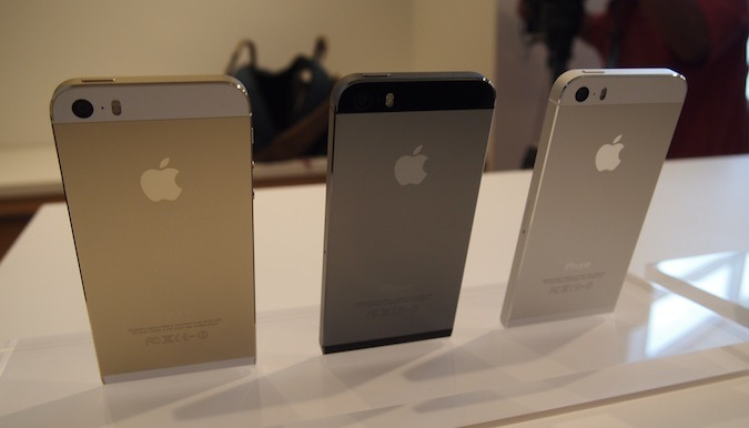 Цвета iPhone 5s