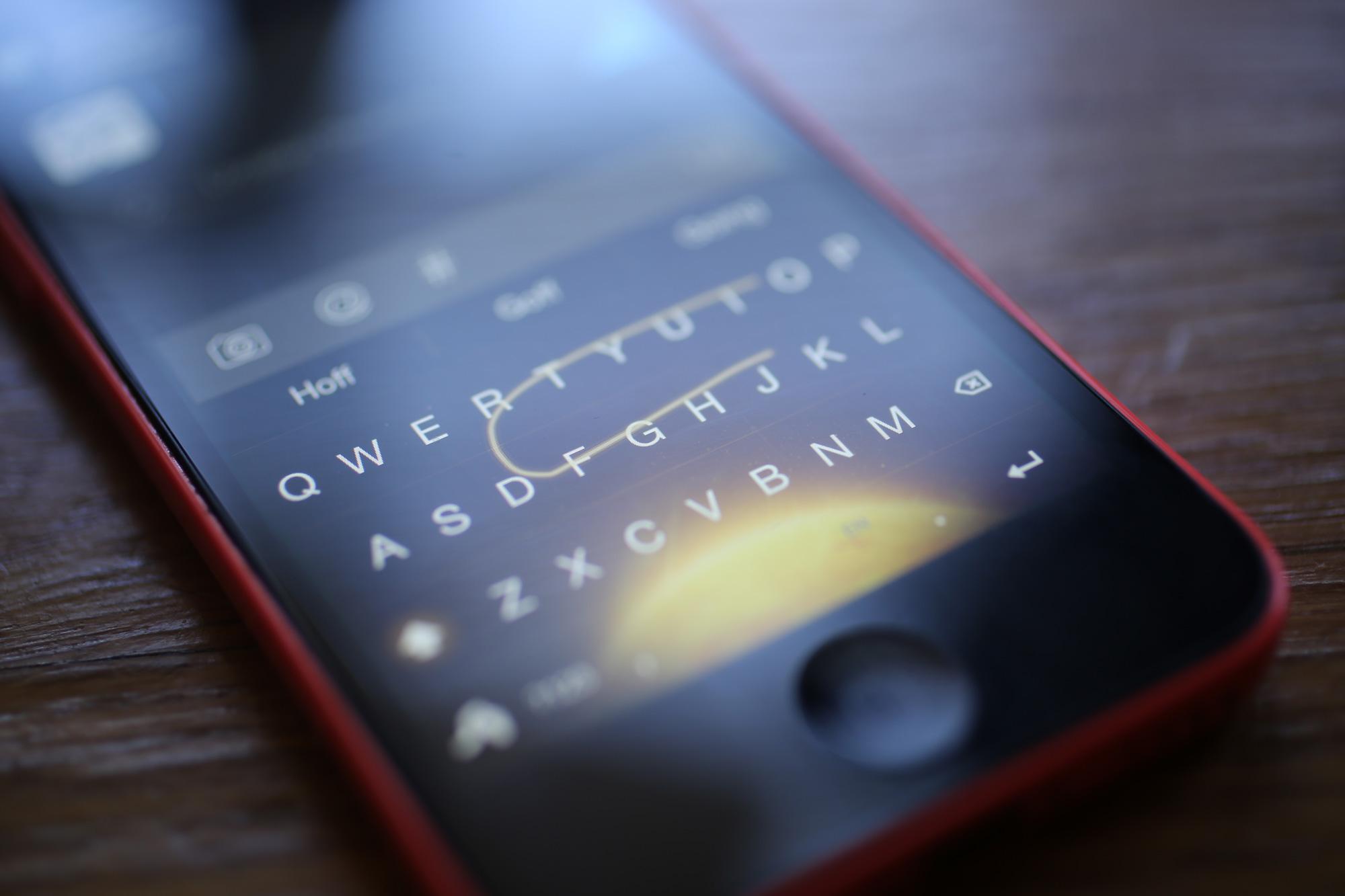 Сторонние клавиатуры для iOS 8