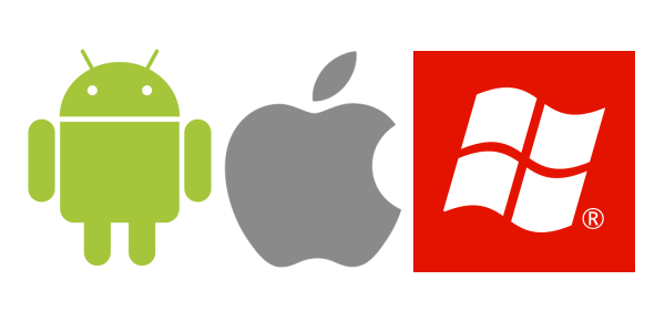 android, ios, windows mobile