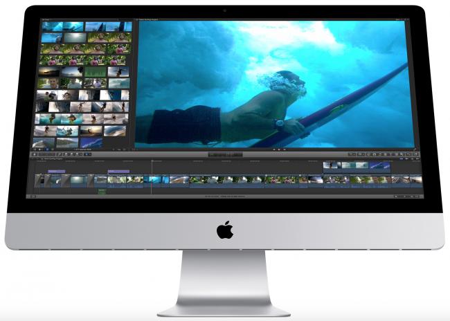 iMac c дисплеем Retina