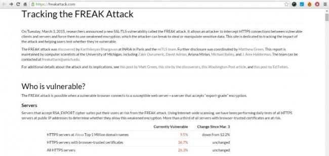 Устройства Apple незащищены от вредоносной программы FREAK