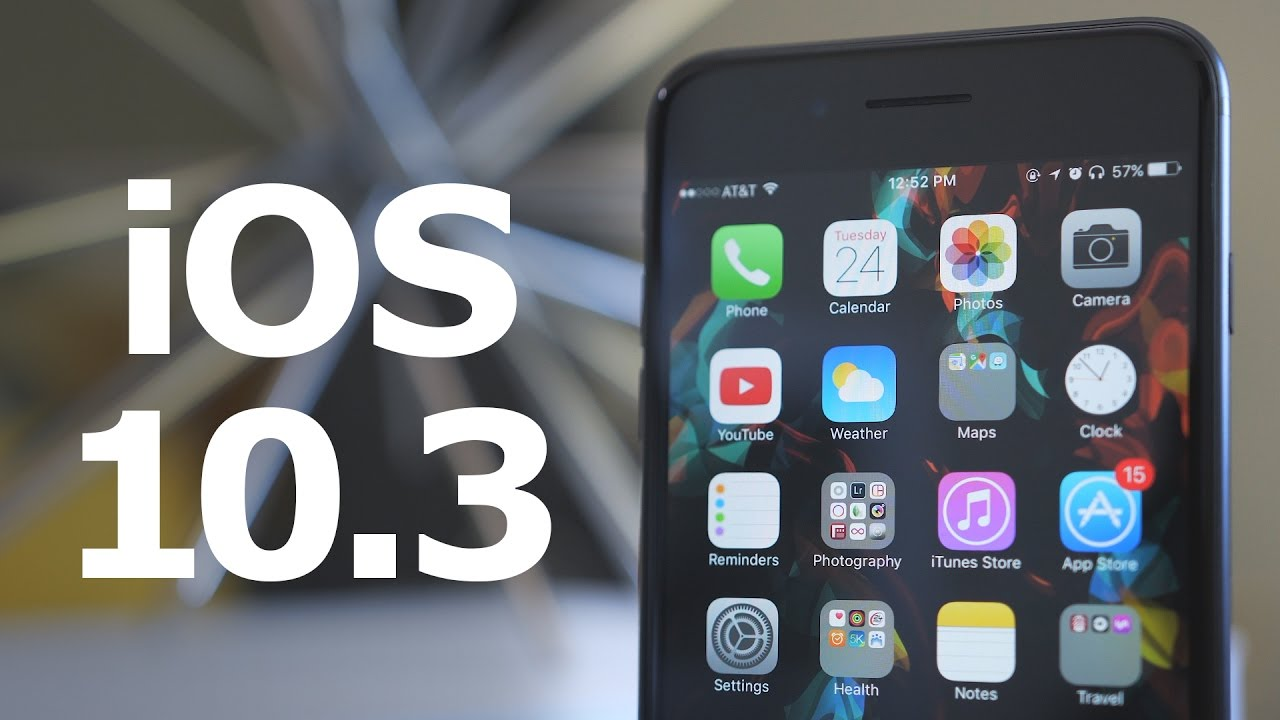 IOS 10.3 - что нового