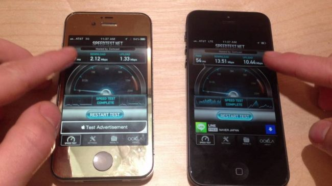 lte iphone