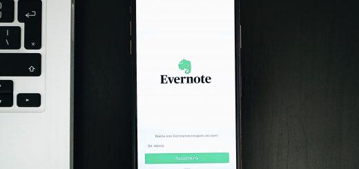 Приложение заметки Evernote