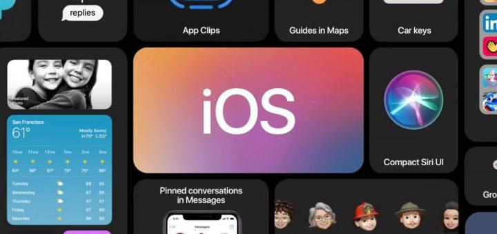 обновление iOS 14