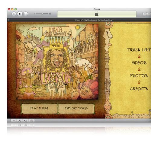 iTunes LP и iTunes Extras