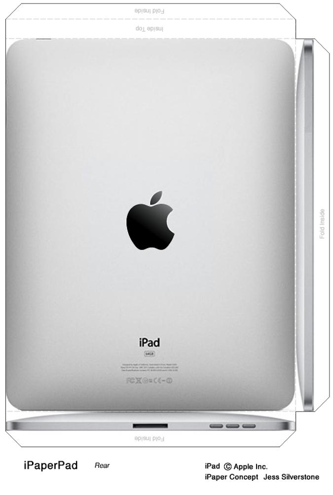 Как сделать свой iPad из бумаги