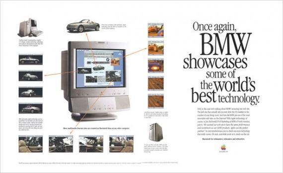 1996 bmw ad