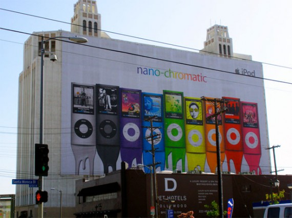 nano chromatic billboard