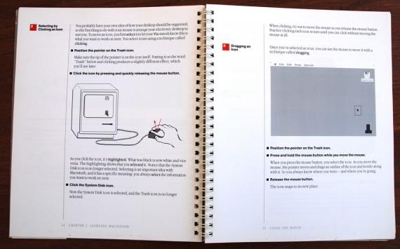 Macintosh User Manual - Clicking