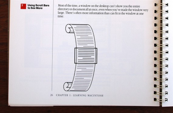 Macintosh User Manual - Scrolling