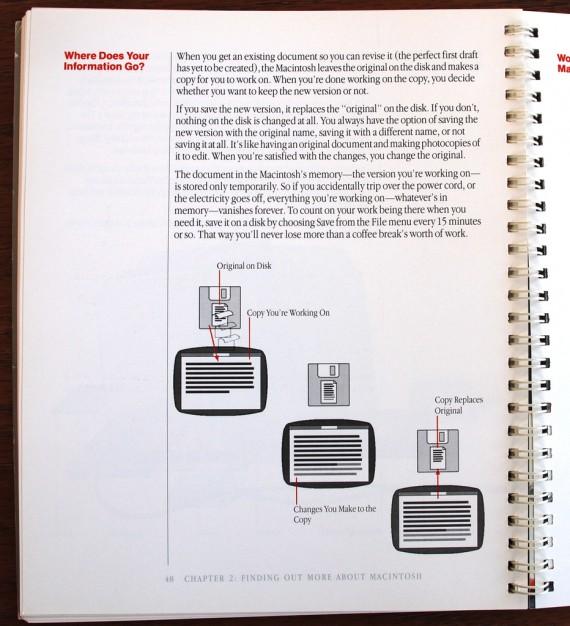 Macintosh User Manual - Saving