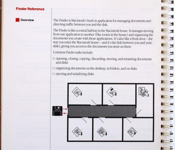 Macintosh User Manual - Finder Rooms
