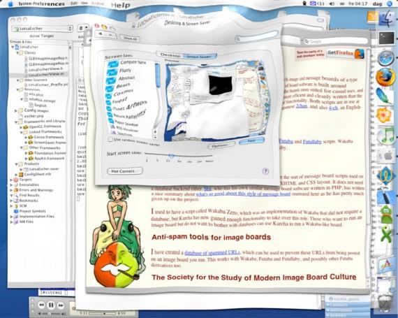 Заставки для Mac